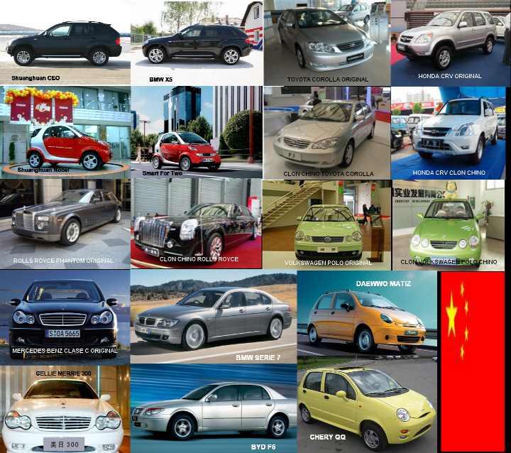 Autos chinos, precios chinos.