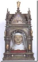 cabeza de santa catalina