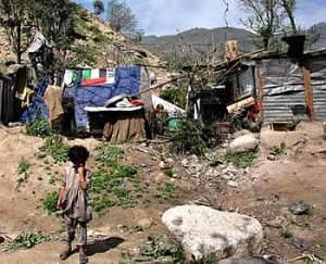 Cinturones de pobreza: el riesgo del dengue. Foto: www.catamarcaesnoticia.com.ar