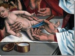 prepucio Pintura de Friedrich Herlin, 1488