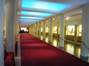 Monumento a la bandera Rosario, sala de las banderas de America, C Scabuzzo