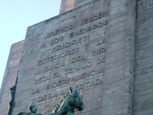 monumento a la bandera, juremos
