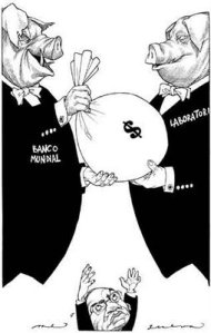 El negocio de la pandemia. De: http://unpocoditodo.blogspot.com/2009/05/el-humor-en-los-tiempos-de-la-fiebre.html