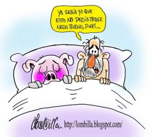 Relaciones peligrosas. http://lombilla.blogspot.com/2009/04/gripe-porcina.html
