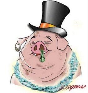 humor gripe porcina  tapa