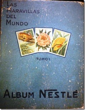 Album Nestle Las Maravillas del Mundo