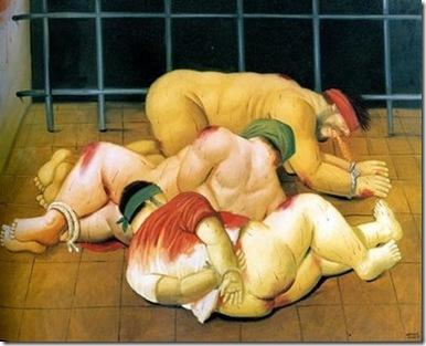 Fernando Botero, Tortura