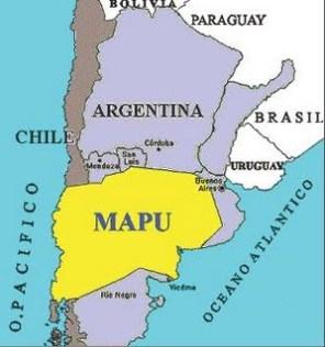 MAPA territorio Mapuche