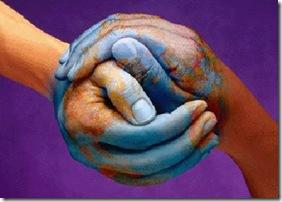 mundo y manos