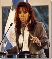 Presidenta Cristina de Kirchner