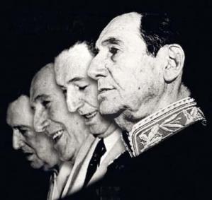 Juan Domingo Perón, caras