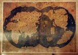 Mapa de Zheng He de América