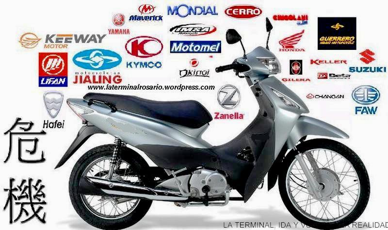 el 90 % de las motocicletas que se venden en argentina son de origen