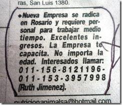 aviso La Capital domingo 26 de set 2010