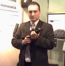 Héctor Alderete, titular de Seprin, una figura cuestionada vinculada a la derecha nacionalista argentina.