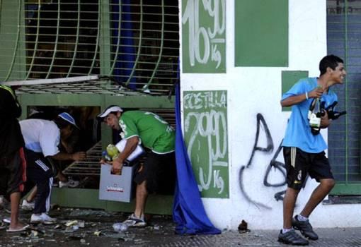 Saqueos Rosario Diario Perfil