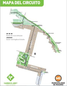 calle recreativa mapa