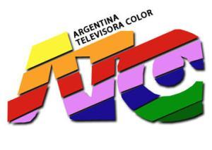 El logotipo de ATC, el renovado Canal 7 que empezó a transmitir en color (Pal-N) a principios de los 80.