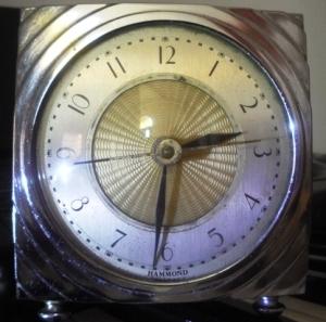 Reloj Hammond, foto: Claudio Scabuzzo, La Terminal