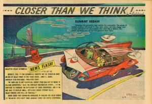 Automóviles que parecían imaginarias naves espaciales, algunos hasta podían volar. Pero en el siglo XXI siguen teniendo cuadro ruedas.