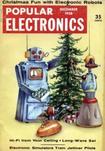 Un mundo dominado por robots, parte de la imaginería popular de los años 50 del siglo XX.